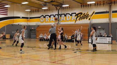 160216 GRANADA JV GIRLS BASKETBALL (AMADOR GAME)