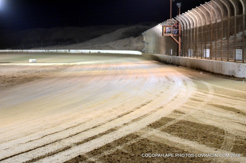 OFF TURN 4 COCOPAH SPEEDWAY