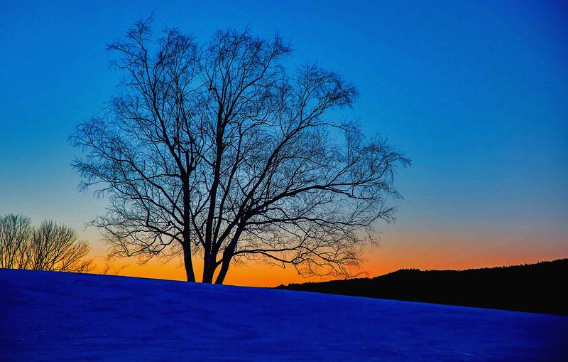 Stratford sunset, Vt.