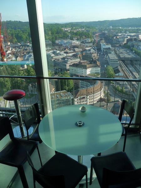 @RobAng, Mai 2014, Blick aus 95m vom Roten Turm