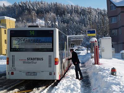 Neuhegi - alles neu, auch die Buslinie..