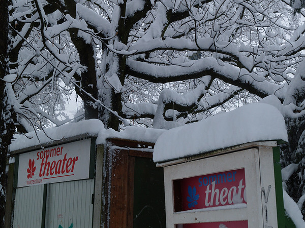 ..oder doch eher Winter-Theater??