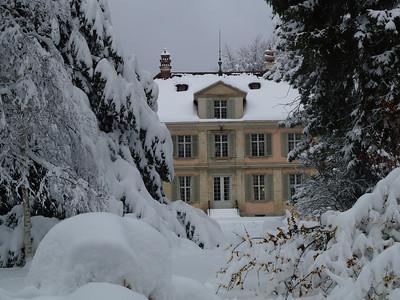 Museum Lindengut, ehemals Villa von Johann Sebastian Clais (mit erstem Blitzableiter der Schweiz, von Benjamin Franklin)