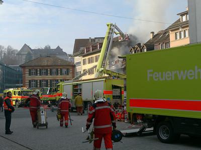 Grossbrand am Neumarkt, 12.3.12