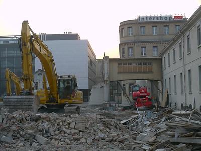 Sulzerareal - Februar 2012 (Abbruch für Superblock)