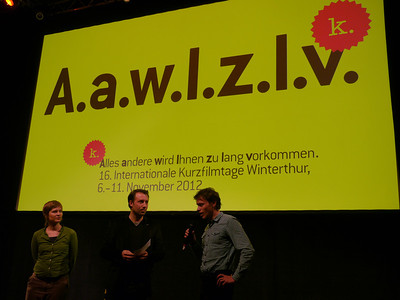 ©RobAng 2012 , 16. Internationale Kurzfilmtage 2012, Winterthur