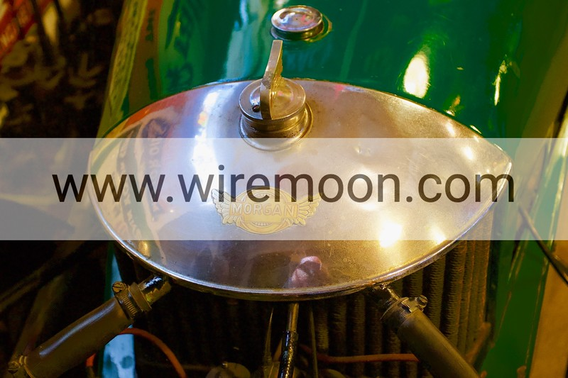 Morgan Super Sports 1936, trike. Cotswold Motoring Museum, Bourton-on-the-Water, Gloucestershire