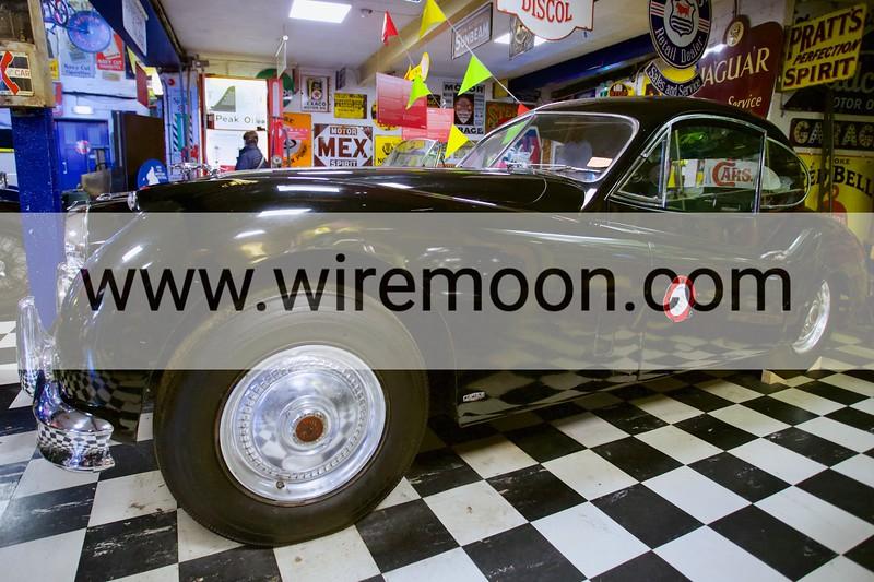 Jaguar XK140 1956. Cotswold Motoring Museum, Bourton-on-the-Water, Gloucestershire