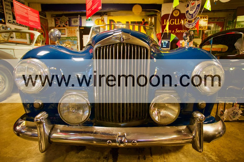 Sunbeam Alpine 1956. Cotswold Motoring Museum, Bourton-on-the-Water, Gloucestershire