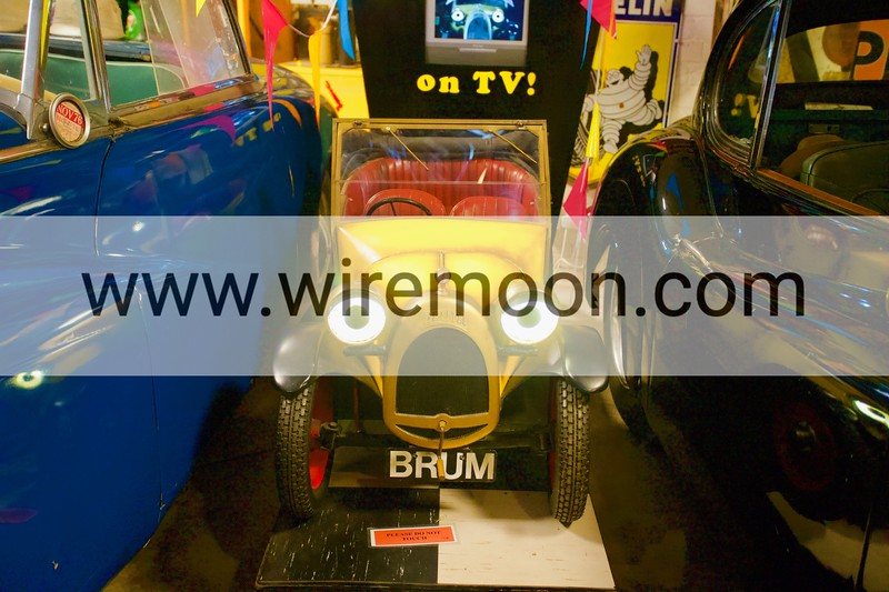 Brum. Cotswold Motoring Museum, Bourton-on-the-Water, Gloucestershire