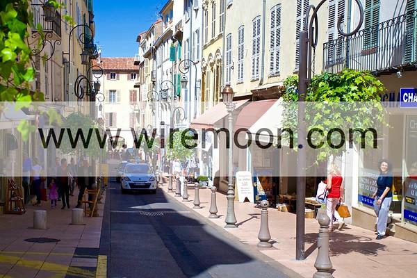 Rue Georges Clemenceau, Antibes.