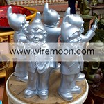 Gnomes, March� aux Fleurs, Cours Saleya, Nice.