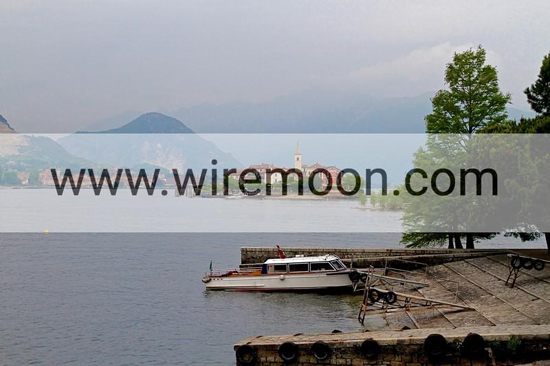 View From Isola Bella, Lake Maggiore.