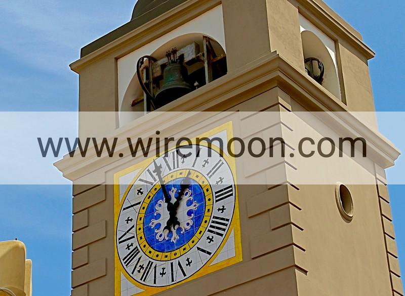 Clock Tower, Piazza Umberto, Capri.