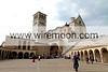 The Basilica of San Francesco, Assisi.