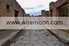 Paved Street, Pompeii.
