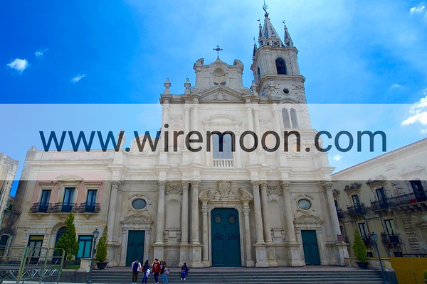 Cathedral of St. Pietro and St. Paolo, Acireale.