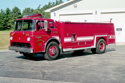 LEDGEVIEW  TANKER 365  FORD C -