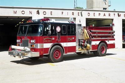 MONROE  ENGINE 756  PIERCE LANCE