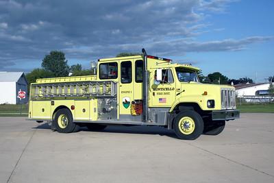 MONTICELLO FIRE DISTRICT  ENGINE 1