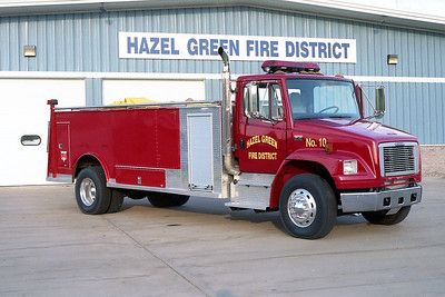 HAZEL GREEN  TANKER 10  FREIGHTLINE FL-80 -
