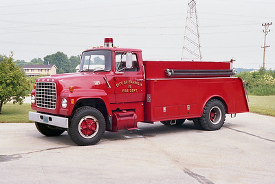 FRANKLIN FD  TANKER 215  1972  FORD L800 - MELRAY   300-1500