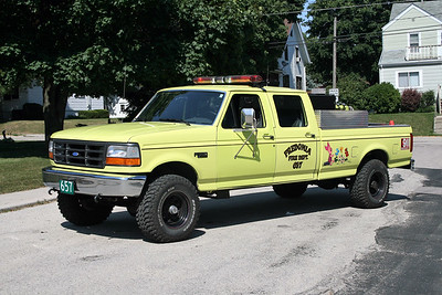 FREDONIA  BRUSH 657  FORD F - FD BUILT