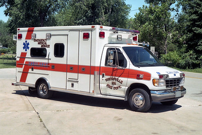 THIENSVILLE  AMBULANCE 551  FORD E450 -