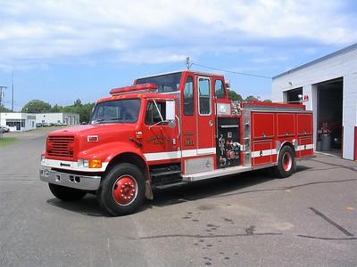 FREDERIC RURAL   ENGINE 1451  IHC 4900 - DARLEY