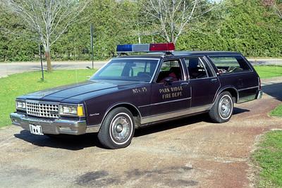 PARK RIDGE FD  CAR 175