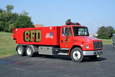 CLINTON  TANKER 45  FREIGHTLINER FL-80 - FD BUILT  0-3500