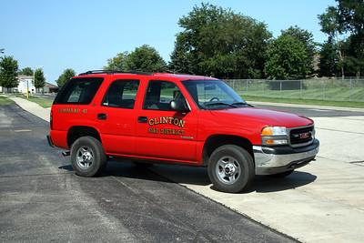 CLINTON FIRE DISTRICT COMMAND 40