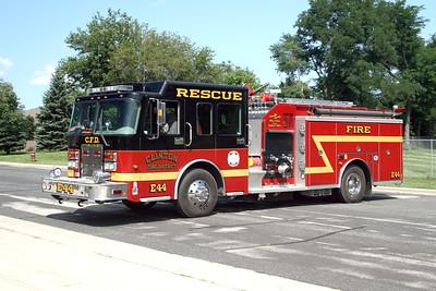 CLINTON FIRE DISTRICT  ENGINE 44