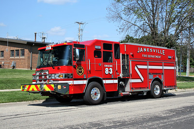 JANESVILLE  ENGINE 83  PIERCE QUANTUM PUC