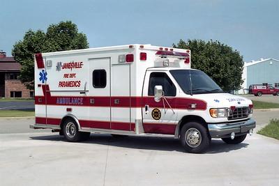 JANESVILLE  MEDIC 85  FORD E450 -