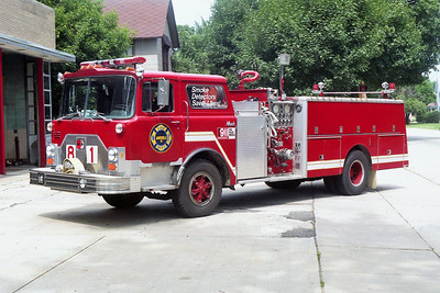 JANESVILLE  ENGINE 81  MACK CF