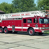 JANESVILLE  LADDER  PIERCE ARROW  105'
