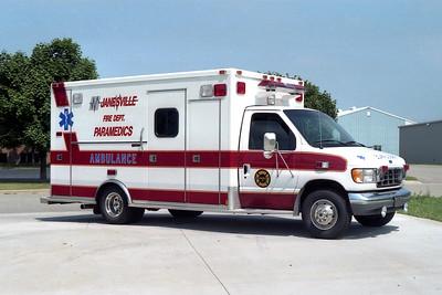 JANESVILLE  MEDIC  FORD E450 - MEDTEC