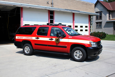 JANESVILLE  COMMAND 5 CHEVY SUBURBAN