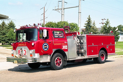JANESVILLE  ENGINE 83  MACK CF