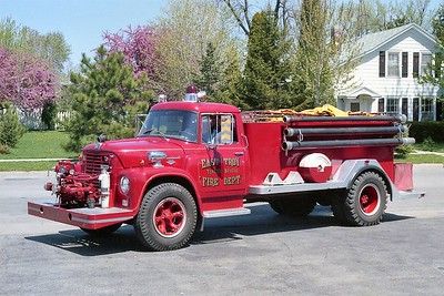 EAST TROY FD  TANKER 1731  1963  IHC LOADSTAR - MELRAY   500-1300