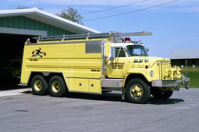 LAUDERDALE-LaGRANGE FD  TANKER 1430  1973  IHC FLEETSTAR - MARION   750-3700
