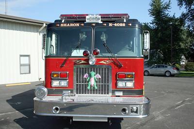 SHARON FD  ENGINE 4022 MASCOTT