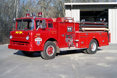TOWN OF DELEVAN ENGINE 2426  FORD C - PIRSCH