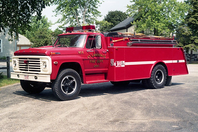 ST LAWRENCE FD  TANKER 2560  1972  FORD F750 - MELRAY  0-1600