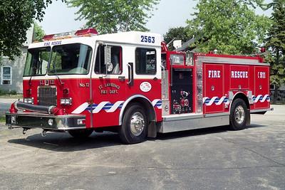 ST LAWRENCE FD  ENGINE 2563  1995  SPARTAN - DARLEY   1500-500