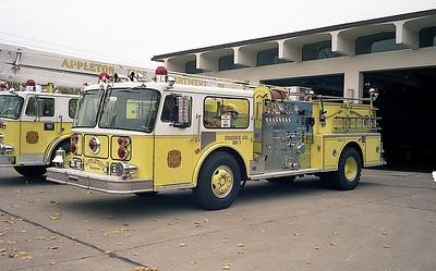APPLETON FD  ENGINE 1  SEAGRAVE