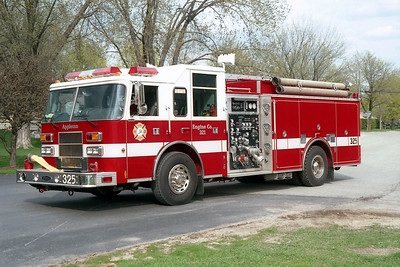 APPLETON  ENGINE 325  PIERCE SABER