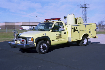 WITTMAN  RESCUE 114  CHEVY -