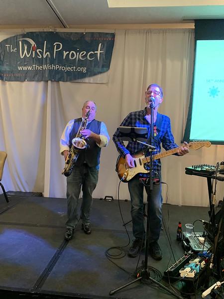 Entertainers Alan Bernardo and Brian Curtis of Portland, Maine